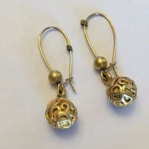 Cool unique vintage dangle earrings